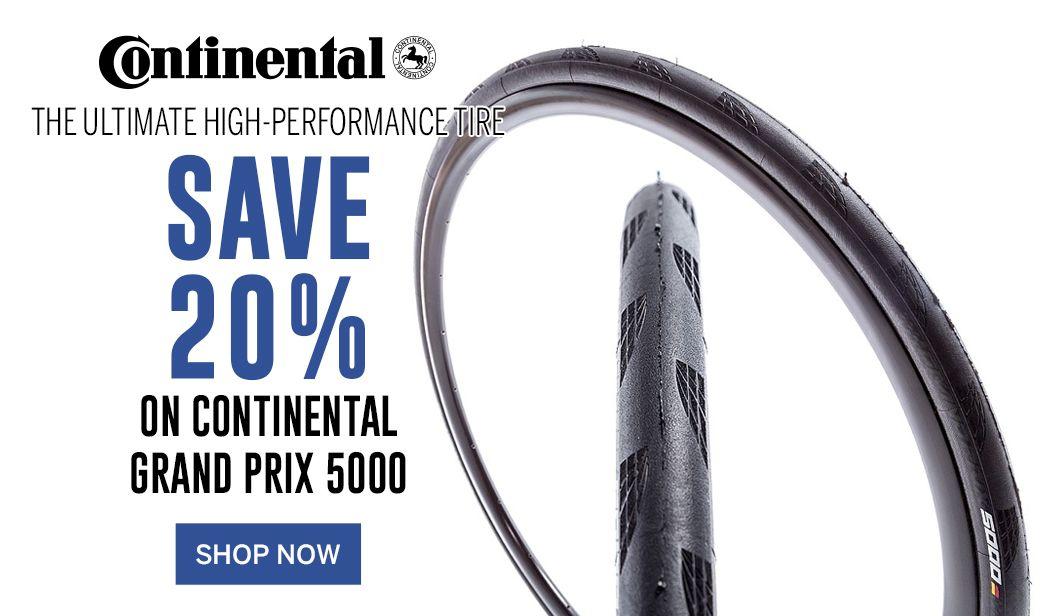 Save 20 on Continental Grand Prix 5000