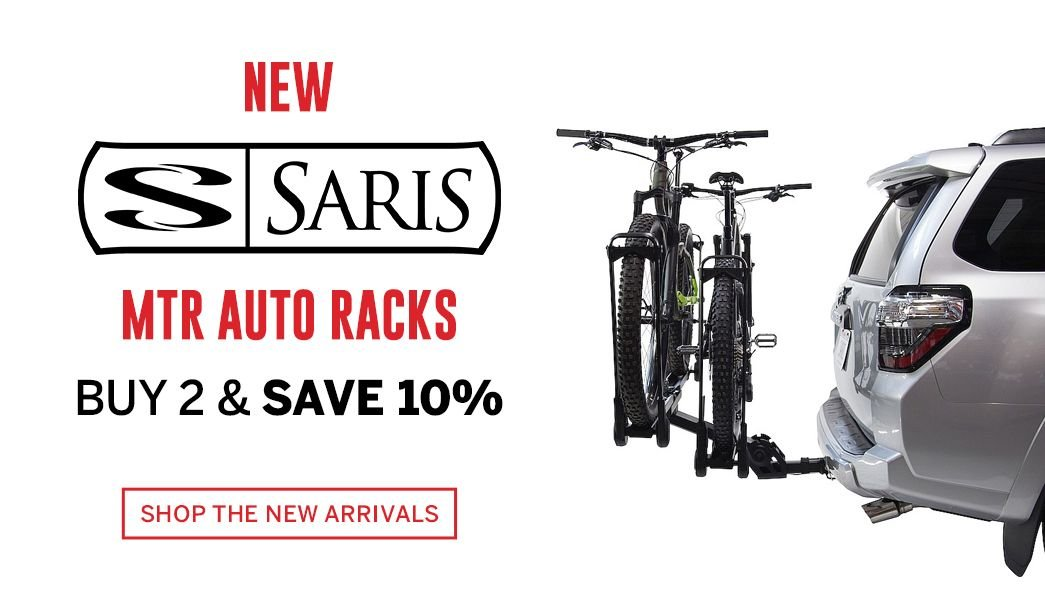 Save More on our New Saris MTR Auto Racks
