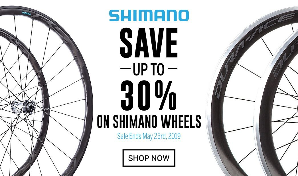 Save up to 30 on Shimano Wheels