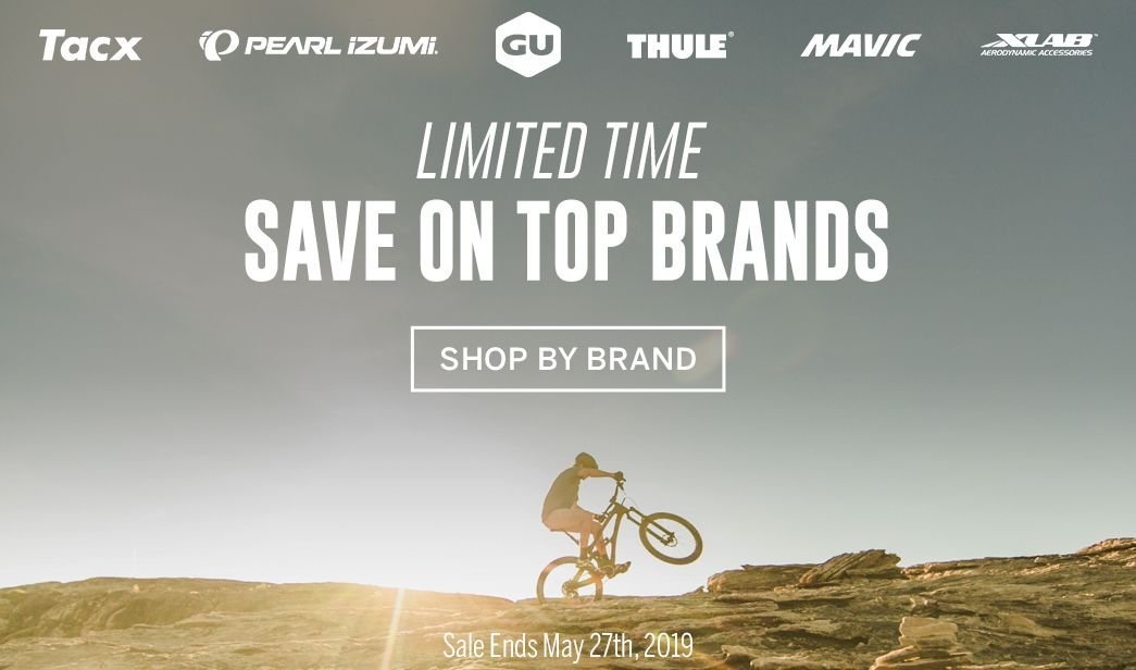 Limited Time to Save on Top Brands