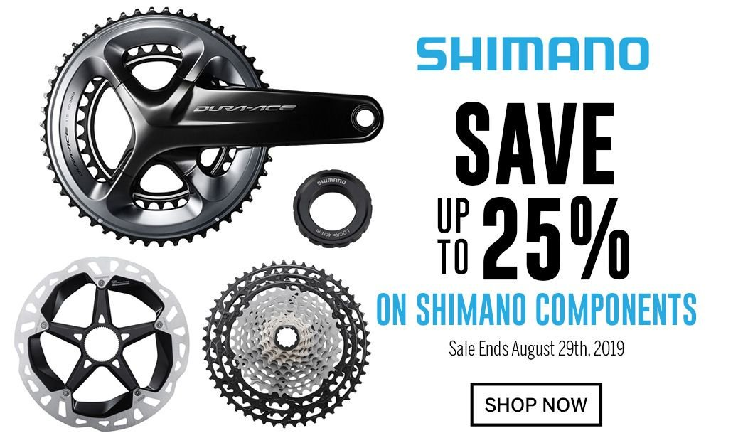 Save up to 25 on Shimano Components