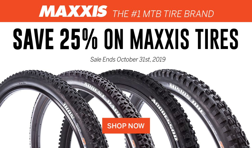 Save 25 on MAXXIS Tires