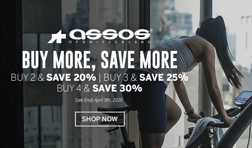 Buy More, Save More Assos