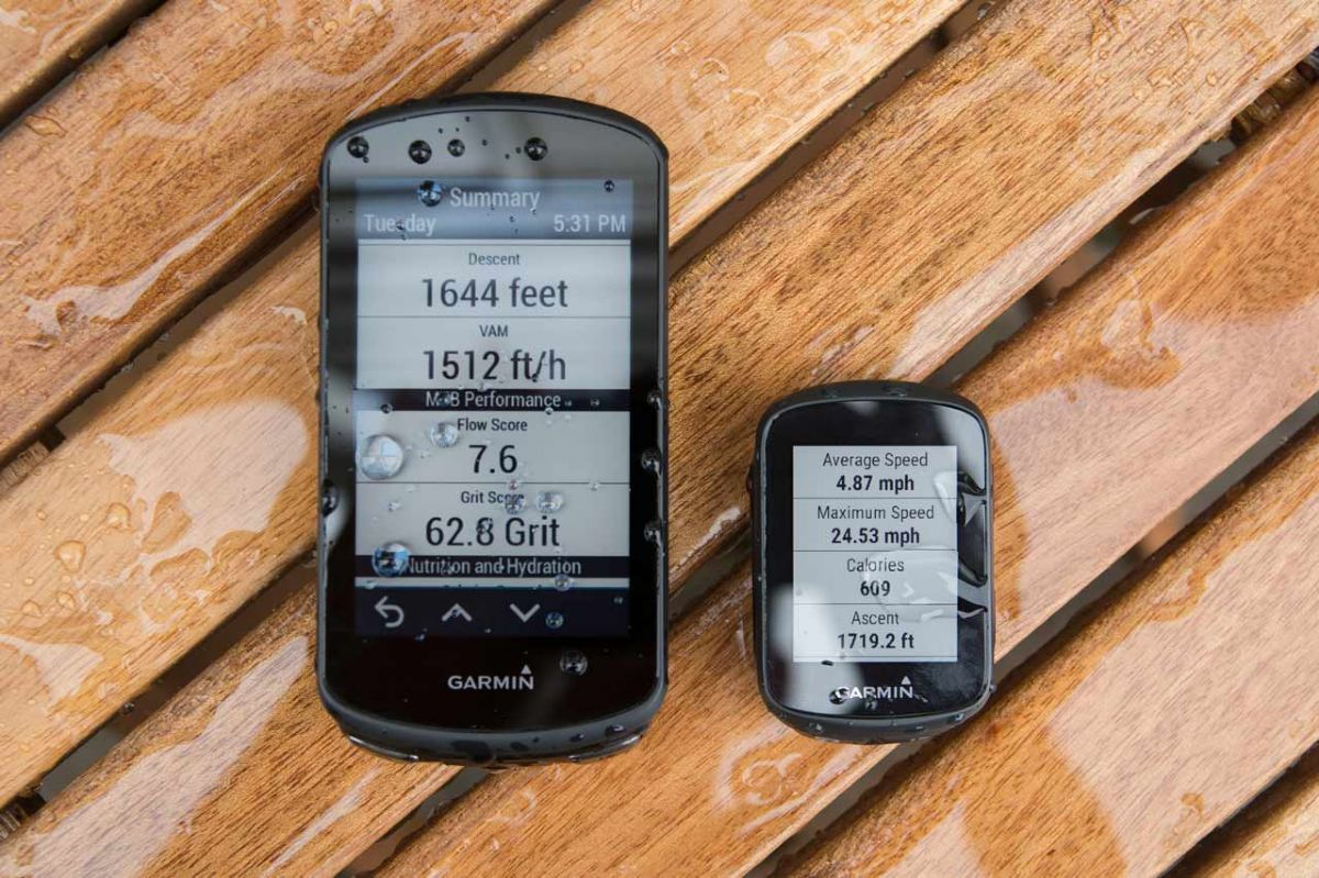 Garmin 130 / 1030 Plus Size Comparison