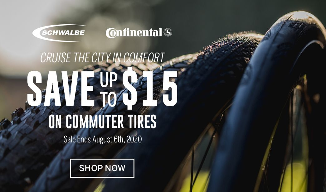 Save on commuter bike tires