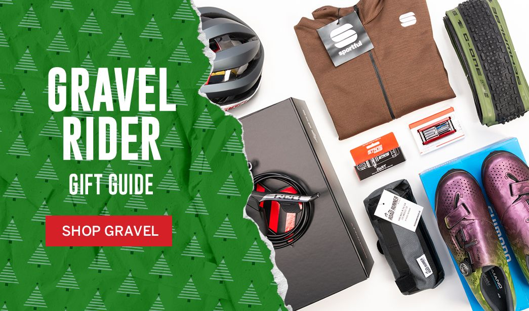 Shop holiday gifts for gravel cyclists at BikeTiresDirect