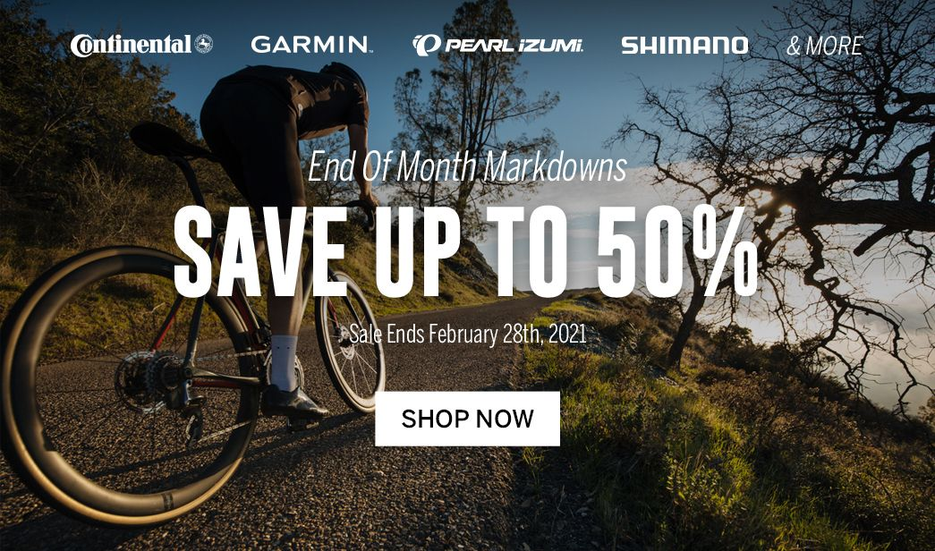 Save on end of month markdowns at BikeTiresDirect
