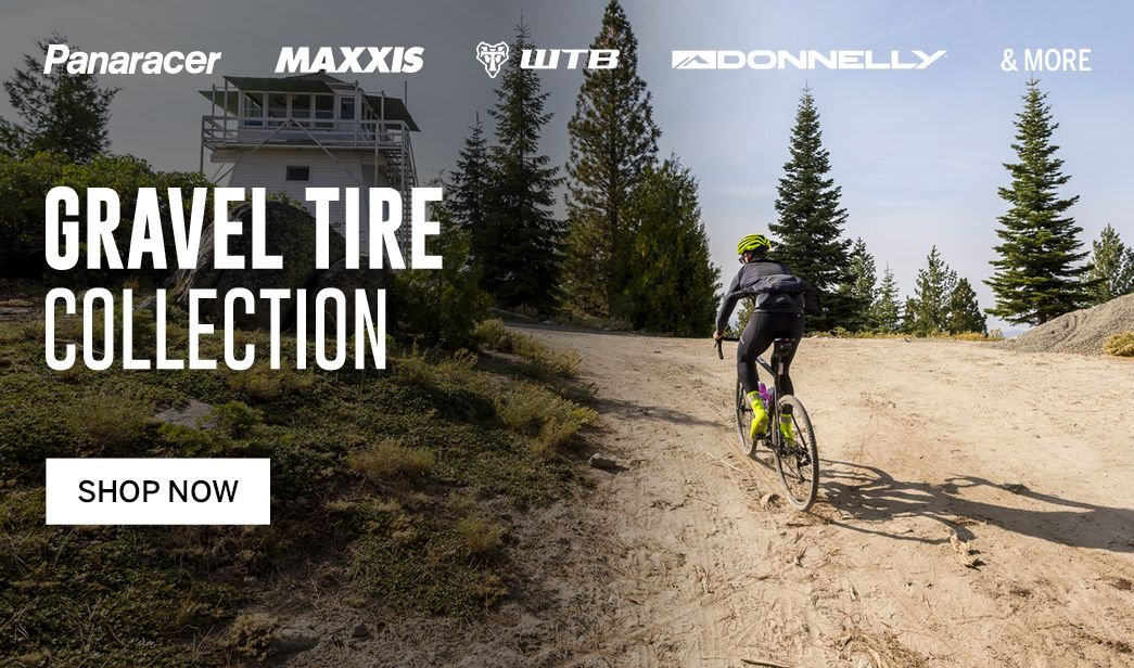 Shop gravel bike tires at BikeTiresDirect