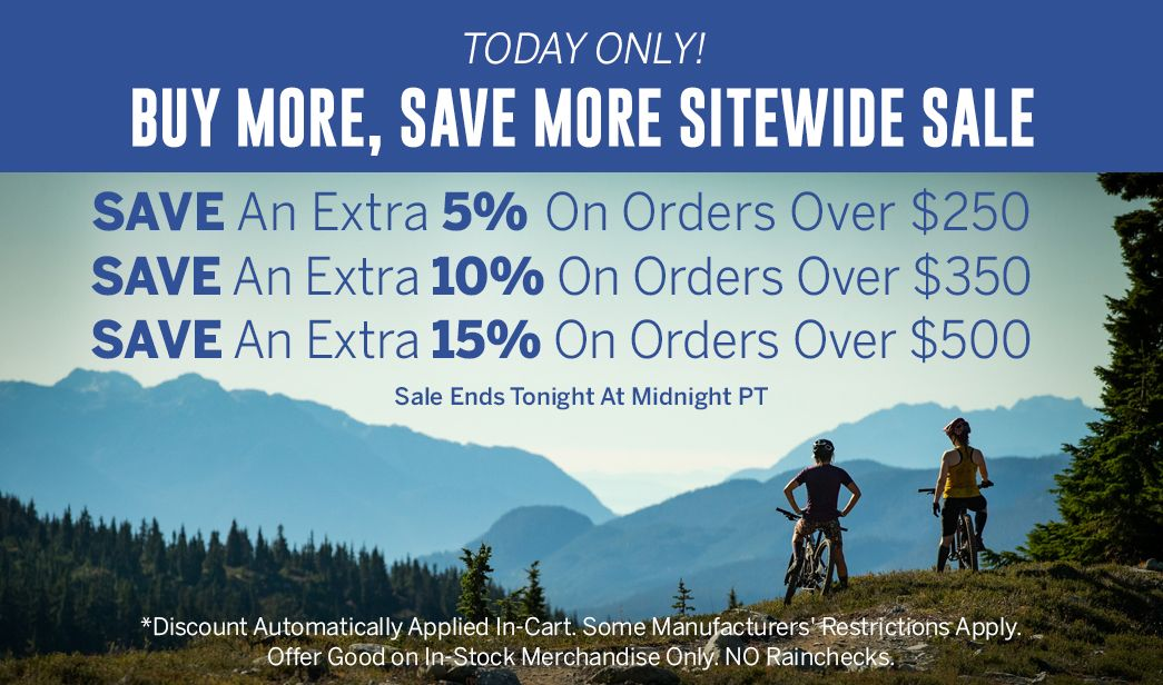 Buy More, Save More Sitewide Sale