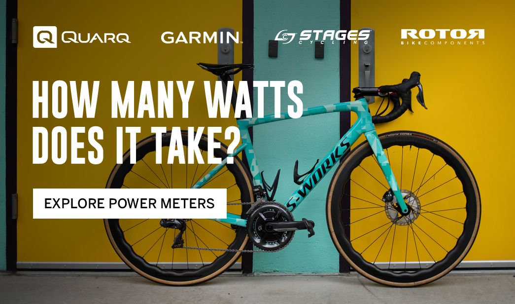 Shop power measurement for cyclists at BikeTiresDirect